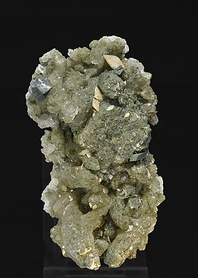 Quartz with Titanite and Chlorite.