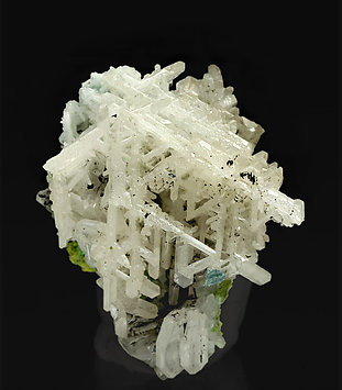 Cerussite with Duftite and Gartrellite.