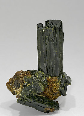 Epidote with Grossular. Front