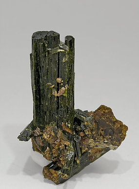 Epidote with Grossular. Rear