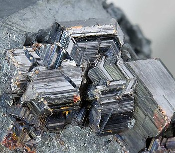 Hematite after Ilmenite with Rutile.