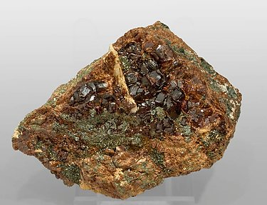 Andradite with Clinochlore.