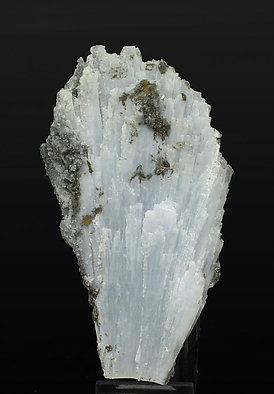 Anhydrite with Calcite and Pyrite.