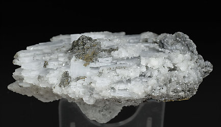 Anhydrite with Calcite and Pyrite. Top