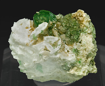 Grossular with Pectolite.