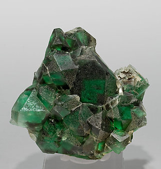 Fluorite with Feldspar.