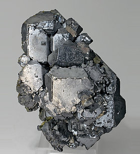Galena with Pyrite. Side