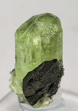 Diopside with Titanite and Graphite. Side