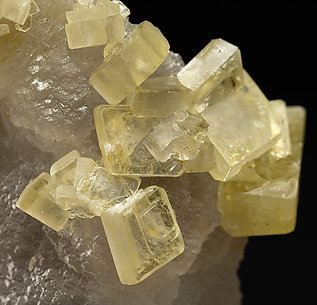 Fluorite with Baryte.