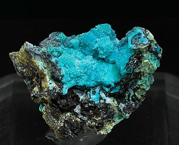 Chrysocolla after Boleite.