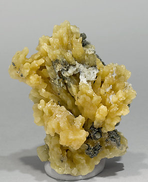 Pyromorphite with Galena. Front