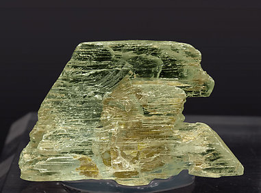 Spodumene (variety hiddenite).