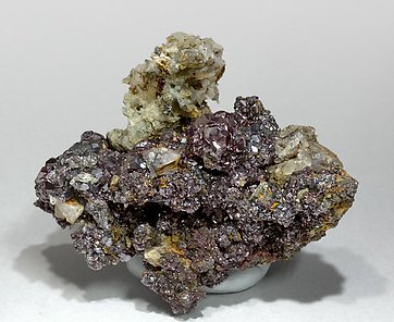 Proustite with Siderite and Quartz.