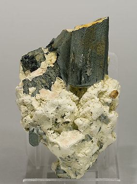Arfvedsonite with Zircon and Feldspar.