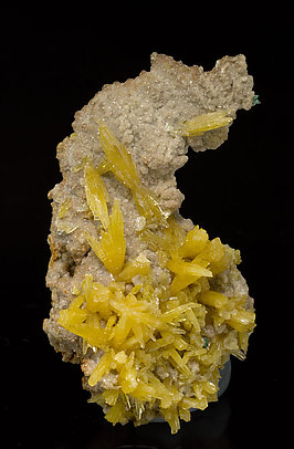 Mimetite with Dolomite.