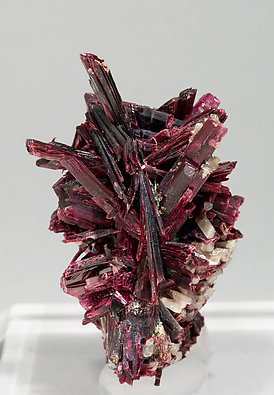 Erythrite with Quartz and Skutterudite.