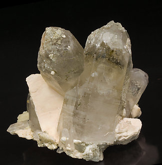 Smoky Quartz with Microcline. Front