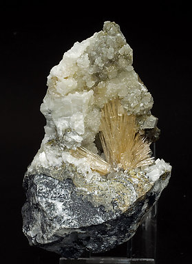 Aragonite with Calcite.