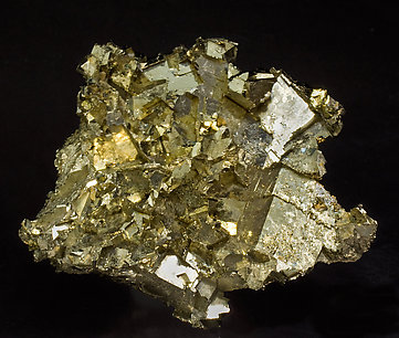Pyrite with Quartz. Rear