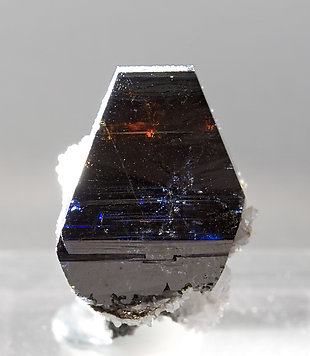 Anatase with Albite. Light behind