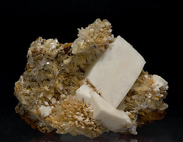 Dolomite with Hemimorphite.