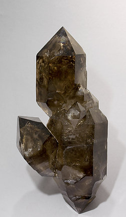 Smoky Quartz doubly terminated.