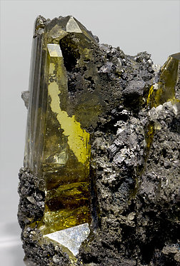 Anglesite with Cerussite and Galena.
