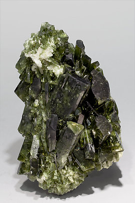 Diopside with Quartz. Front