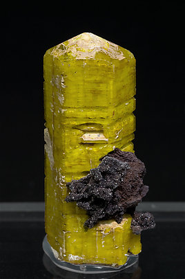 Sturmanite with Calcite.