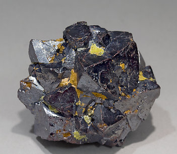 Cuprite with Miersite.
