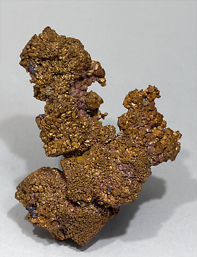 Cuprite with Copper after Cuprite. Front