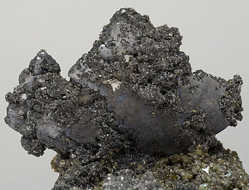 Bournonite with Siderite and Pyrite.