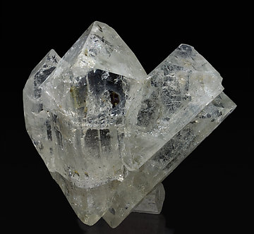 Doubly terminated Topaz. Front