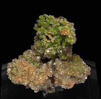 Duftite with Calcite.