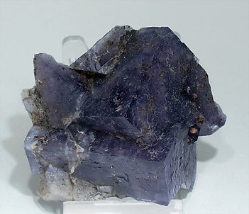 Fluorite and Chalcopyrite.