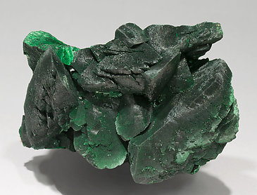 Malachite after Azurite. Side