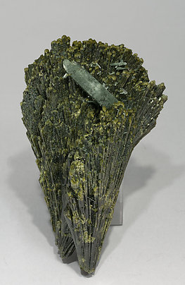 Epidote with Quartz. Front