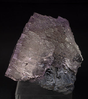 Fluorite with Galena. Side