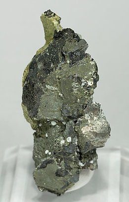 Stannite with Chalcopyrite and Arsenopyrite.