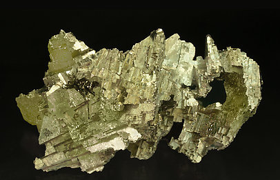 Pyrite on Barite