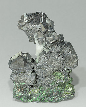 Gersdorffite with Calcite. Front