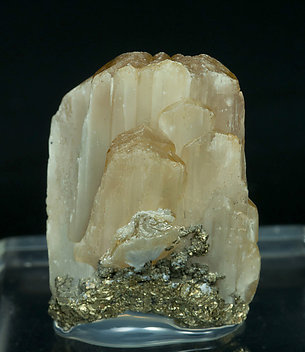 Valentinite with Pyrite. Rear