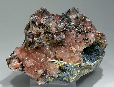 Correianevesite with Huréaulite and Rockbridgeite. Side