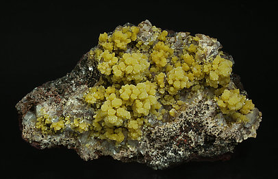 Mimetite with Calcite.