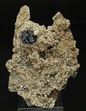 Cassiterite with Muscovite and Schorl-Dravite.