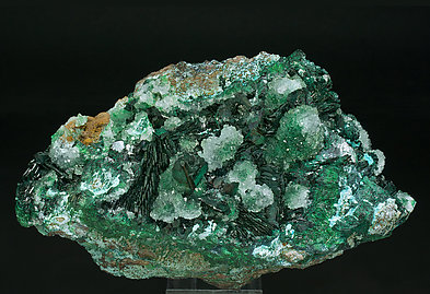 Clinoatacamite with Gypsum.