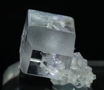 Fluorite with Quartz. Side