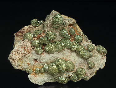 Pyrite on Dolomite.