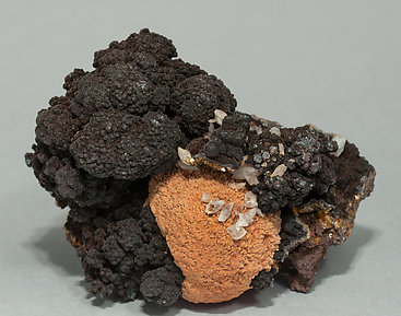 Siderite with Baryte.