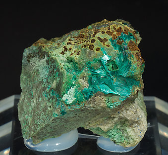 Tyrolite with Chrysocolla.